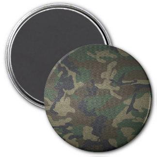 Woodland Camo Fabric Magnet