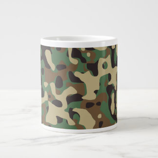 Woodland Camo Giant Coffee Mug