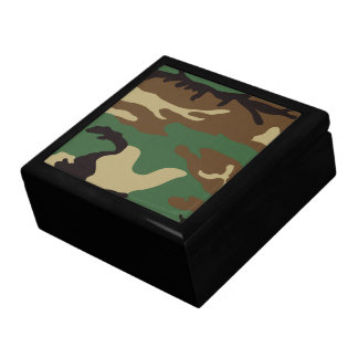 Woodland Camo Trinket Boxes
