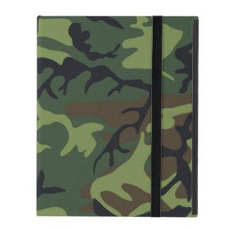 Woodland Camo iPad Case