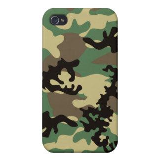 Woodland Camo iPhone 4 Case