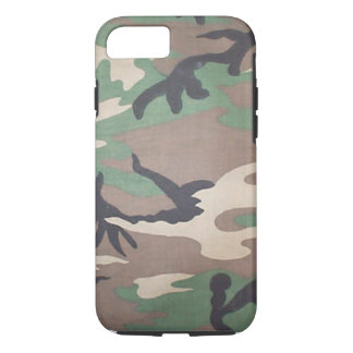 Woodland Camo iPhone 7 case