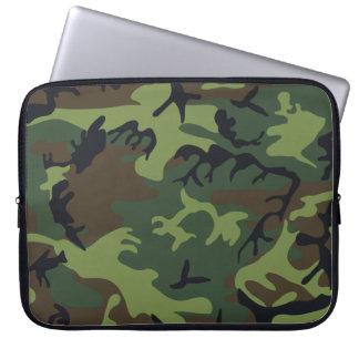 Woodland Camo Laptop Sleeve