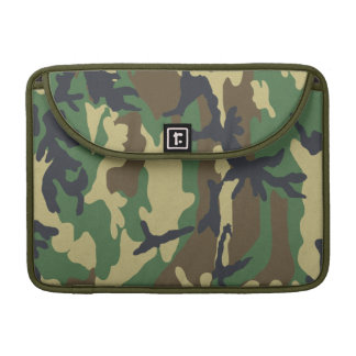 Woodland Camo Macbook Pro Rickshaw Flap Sleeve