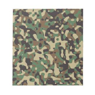 Woodland Camo Memo Notepads