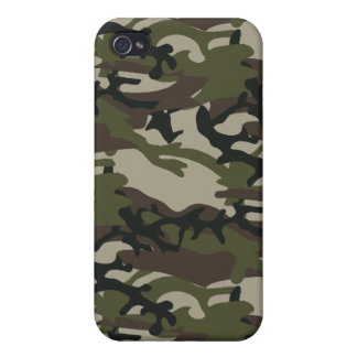 Woodland Camo Military  iPhone 4/4S Covers
