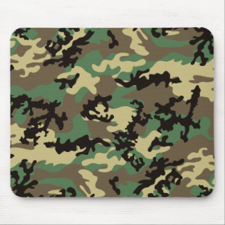 Woodland Camo Mousepad