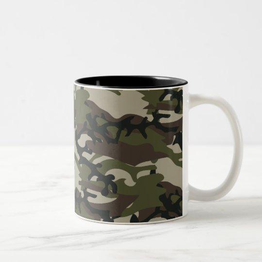 Woodland Camo mug