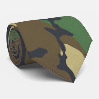 Woodland Camo Neck Tie