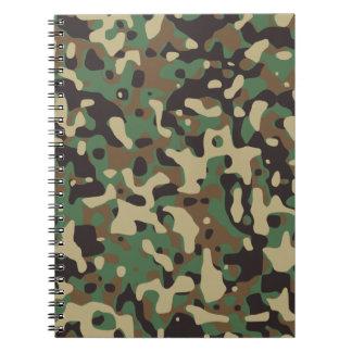 Woodland Camo Note Books