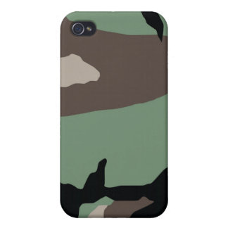 Woodland Camo Pattern iPhone case iPhone 4/4S Case