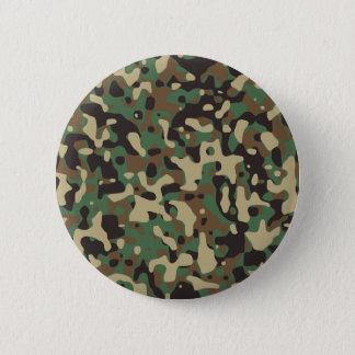 Woodland Camo Pinback Button