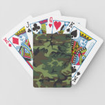 Woodland Camo Playing Cards Bicycle Playing Cards