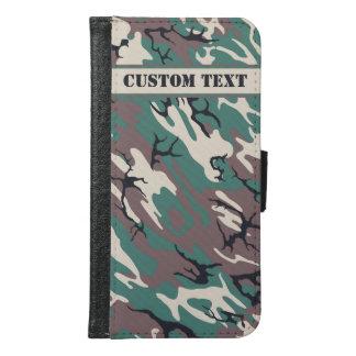 Woodland Camo Smartphone Wallet w/ Text