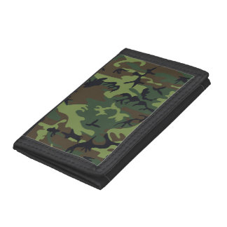 Woodland Camo Trifold Wallet