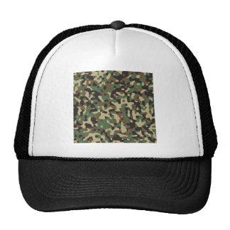 Woodland Camo Trucker Hat