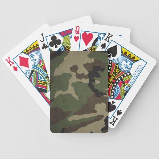 Woodland Camoflauge Playing Cards