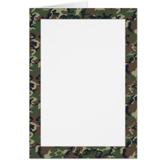 Woodland Camouflage Background Template