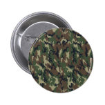Woodland Camouflage Background Template Button