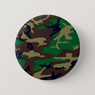Woodland Camouflage Button