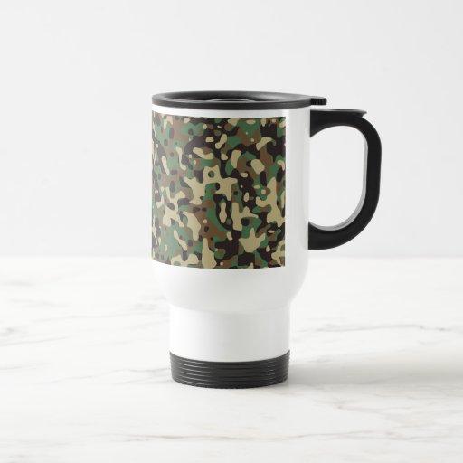 Woodland Camouflage Coffee Mug