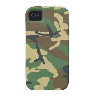 Woodland Camouflage Design iPhone 4 Case
