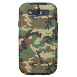 Woodland Camouflage Galaxy S3 Covers