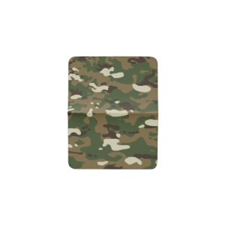 Woodland Camouflage II Business Card Holder