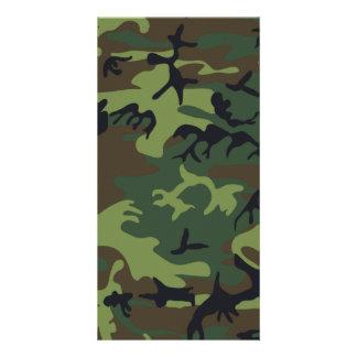 Woodland Camouflage II Card