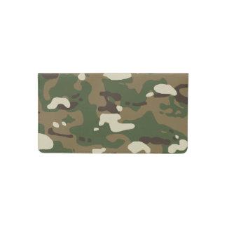 Woodland Camouflage II Checkbook Cover