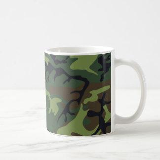 Woodland Camouflage II Coffee Mug