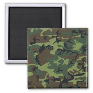 Woodland Camouflage II Magnet