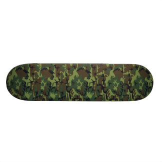 Woodland Camouflage II Skateboard