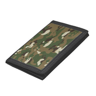 Woodland Camouflage II Trifold Wallet