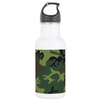 Woodland Camouflage II Water Bottle