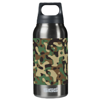 Woodland Camouflage Insulated Water Bottle
