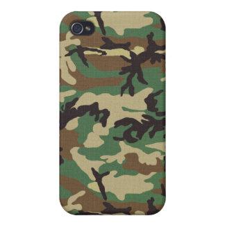 Woodland Camouflage iPhone 4/4S Case