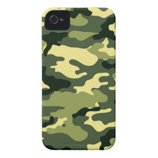 Woodland Camouflage iPhone 4 Cover