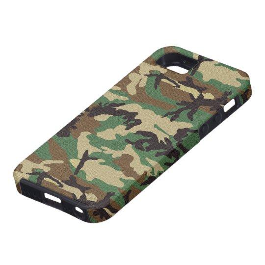 Woodland Camouflage iPhone SE/5/5s Case