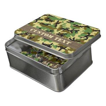 Woodland Camouflage Jigsaw Puzzle