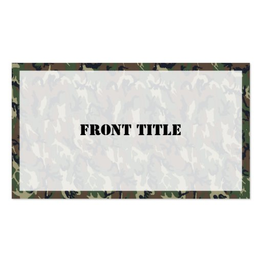 Camouflage Background Business Card Templates 28 Images S Camo
