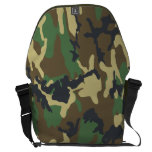 Woodland Camouflage pattern Courier Bags