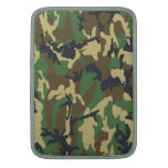 Woodland Camouflage pattern MacBook Sleeve