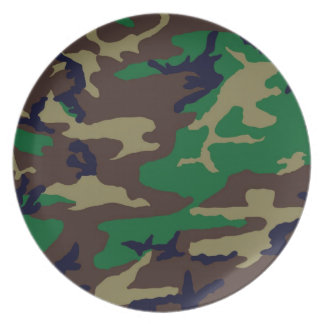 Woodland Camouflage Plate