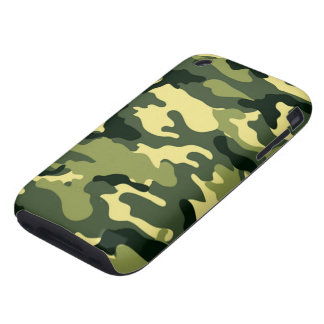 Woodland Camouflage Tough iPhone 3 Cover