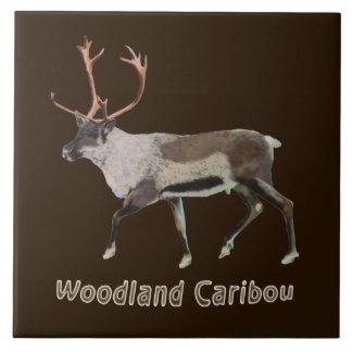 Woodland Caribou Ceramic Tiles