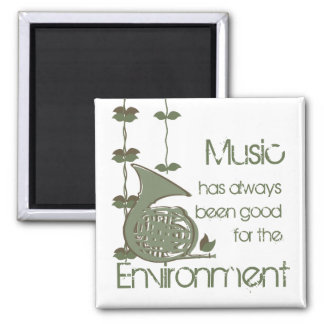 Woodland Charm Music Magnet