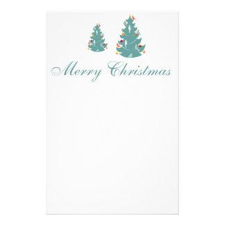Woodland Christmas Customized Stationery
