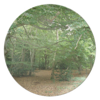 Woodland Clearing Plate