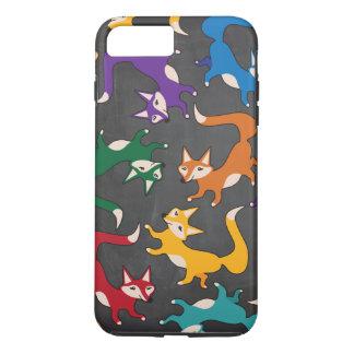 Woodland Colorful cute fox case